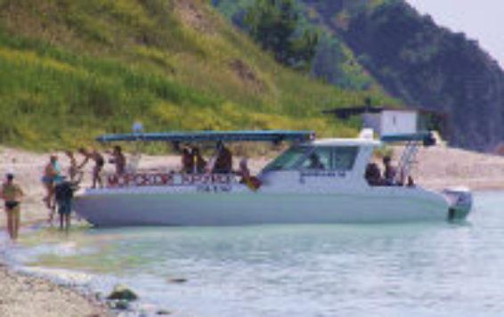 Яхта Джубга