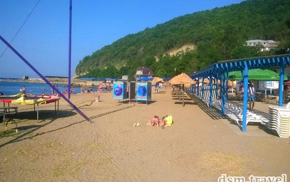 Джубга наш пляж 3